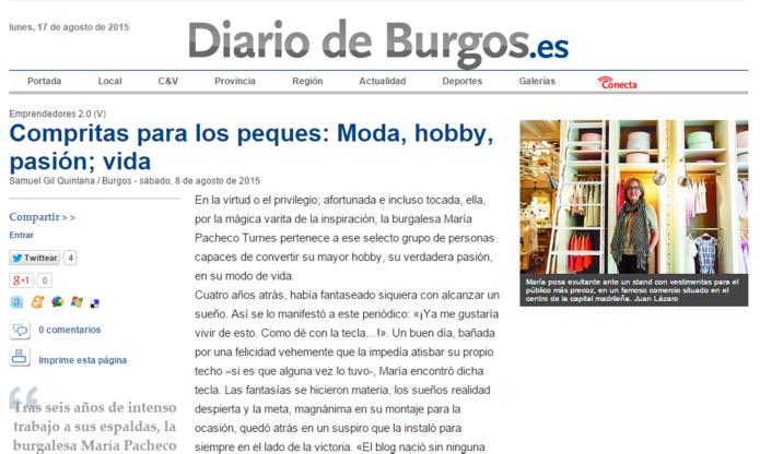 DIARIO DE BURGOS 2015