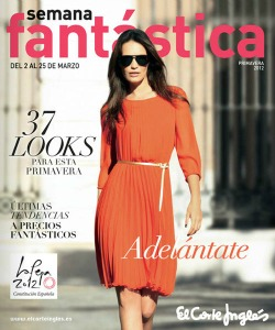 Letizia's Orange Look by El Corte Inglés