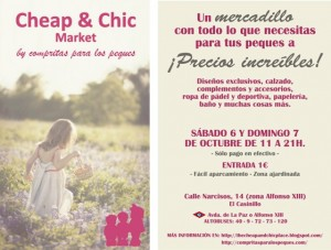 Nervios pre-mercadillo Cheap&Chic by Compritas