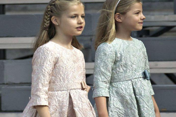 Son Vestidos La Y Leonor Sofía PrimiciaLos Infanta De Princesa UzpSMVq