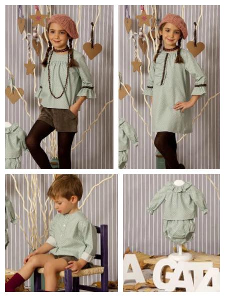 a gatas moda infantil 2