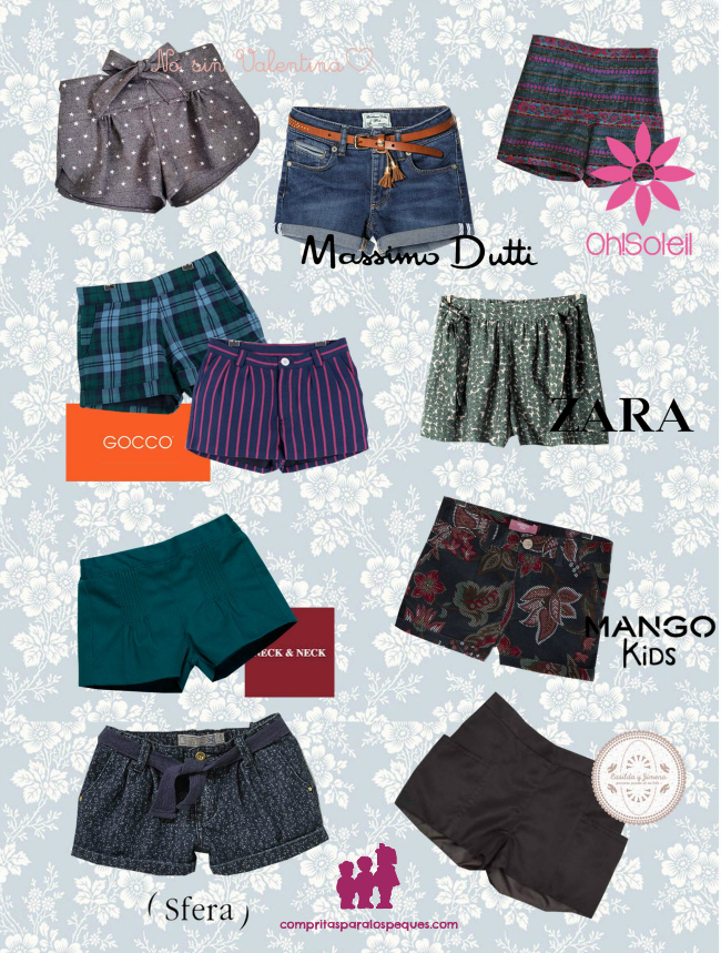 SHORTS NIÑAS blog moda infantil