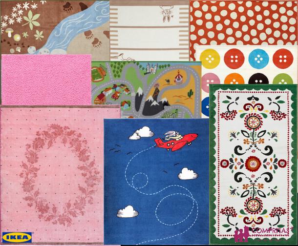 alfombras infantiles para todos los gustos compritas