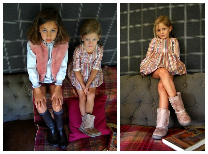 9 botas niña invierno