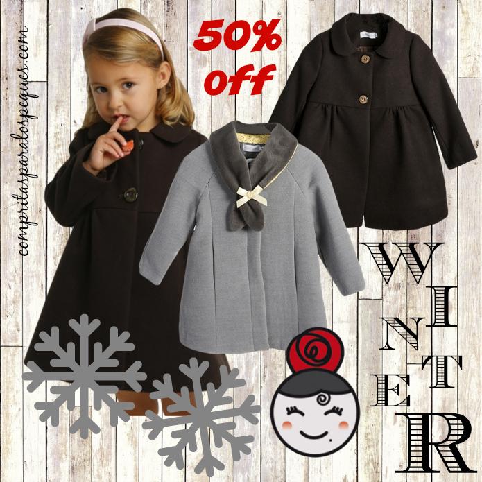 abrigos niño blo moda infantil