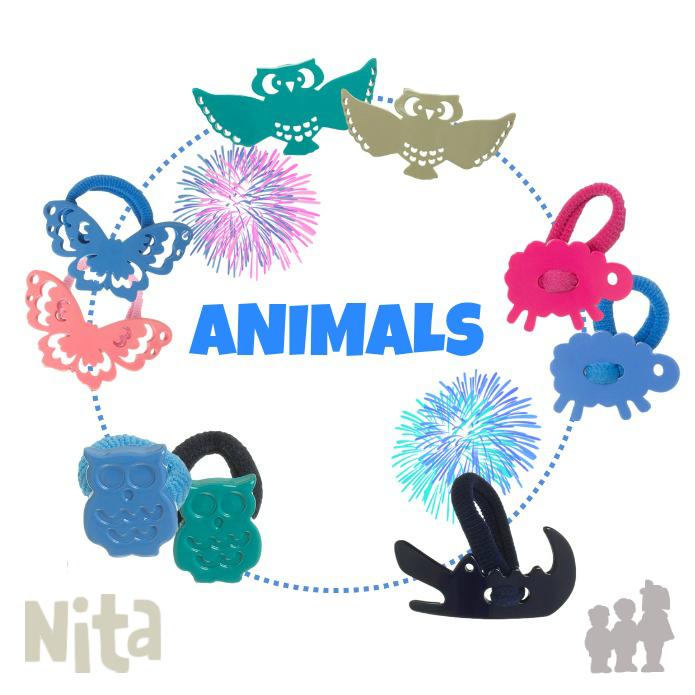 COLETEROS NIÑA ANIMALES