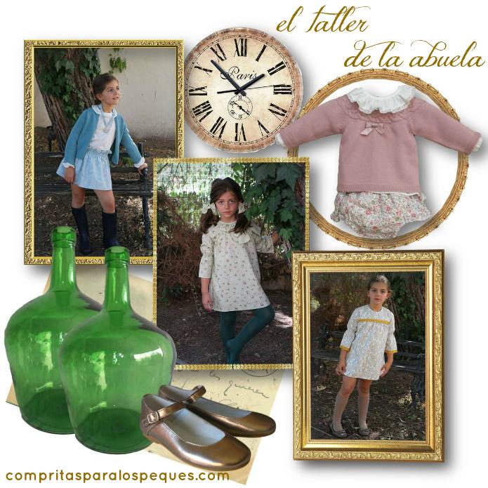 el taller de la abuela moda infantil