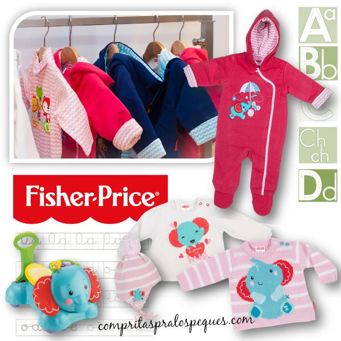 BLOG MODA INFANTIL FISHER PRICE