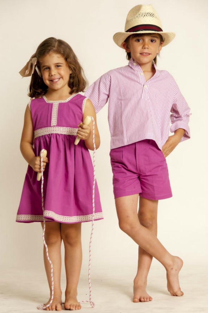 modelo moda infantil