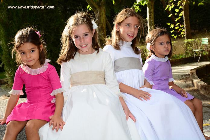 vestidos comunion sencillos blog moda infantil