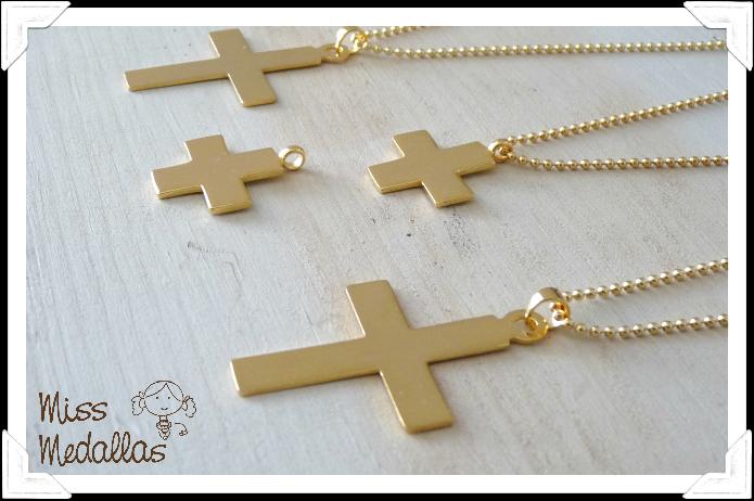 cruces oro comunion