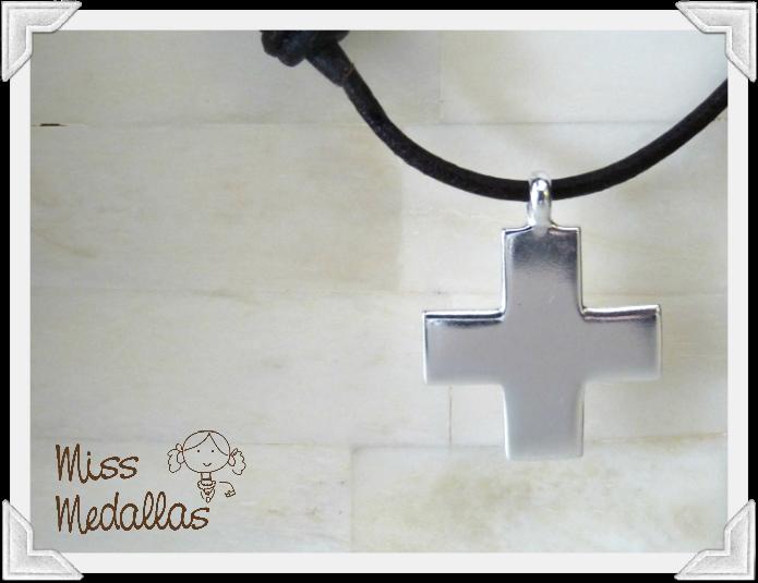 cruz plata primera comunion