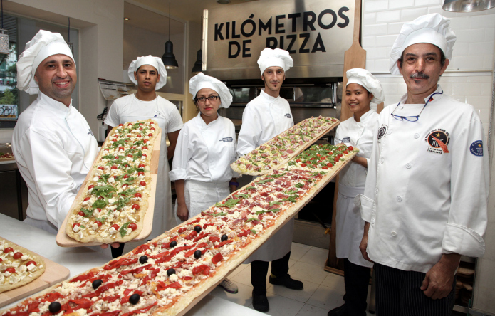 kilometros de pizza madrid