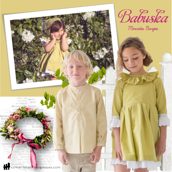 moda infantil babuska