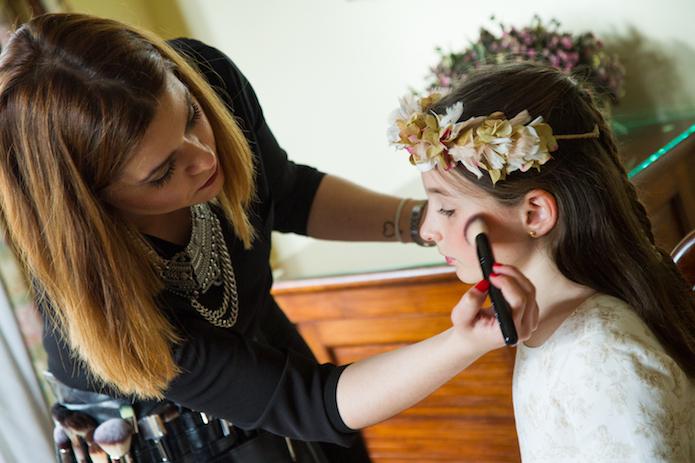 maquillaje niños sesion fotos