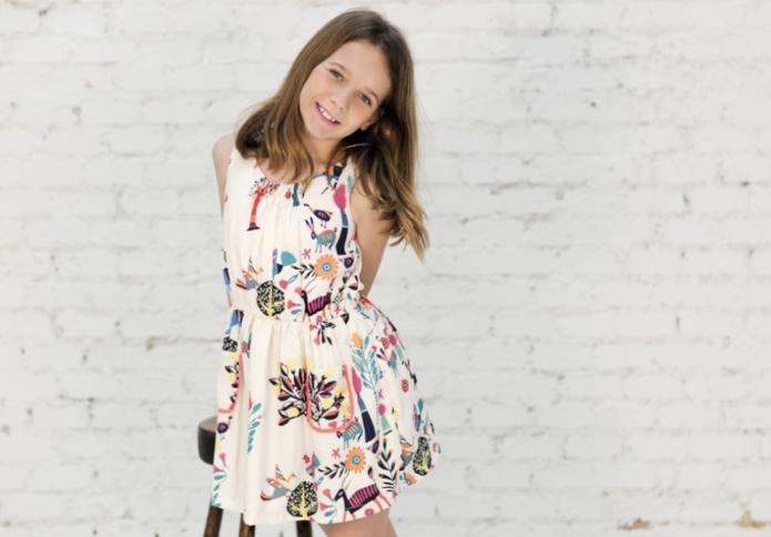 vestido niña etnico