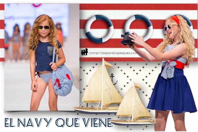vestidos marineros niñas