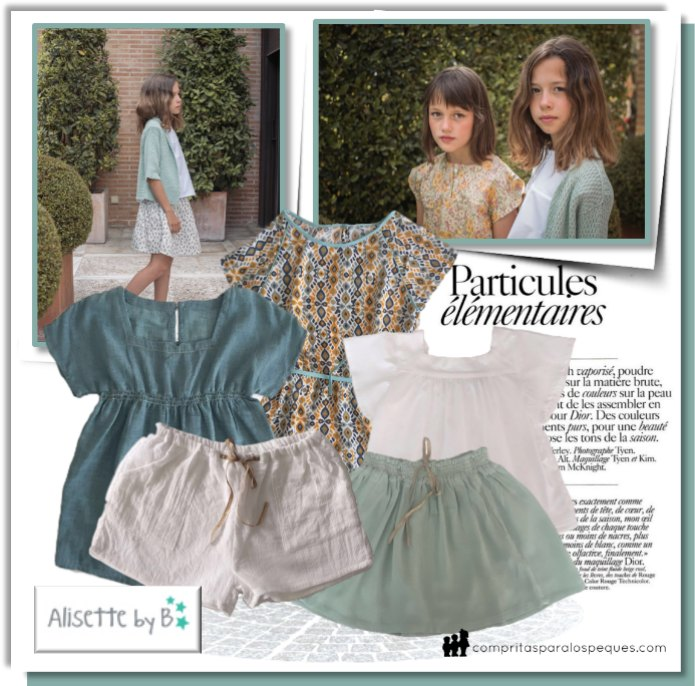 alisette by b moda infantil